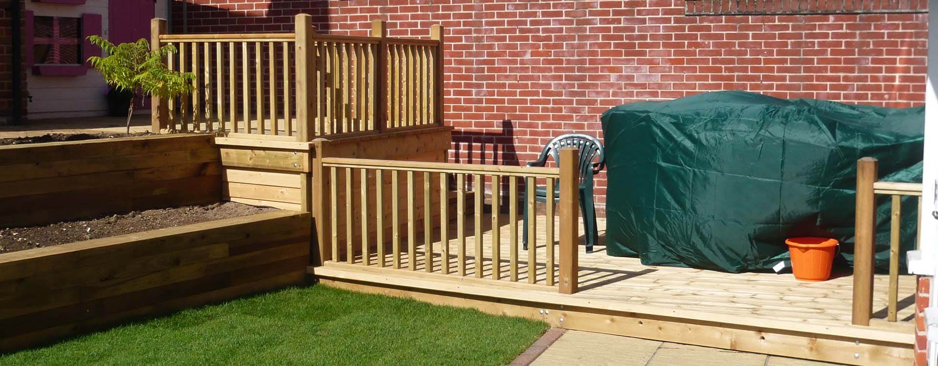 Decking Carpentry Services Norwich