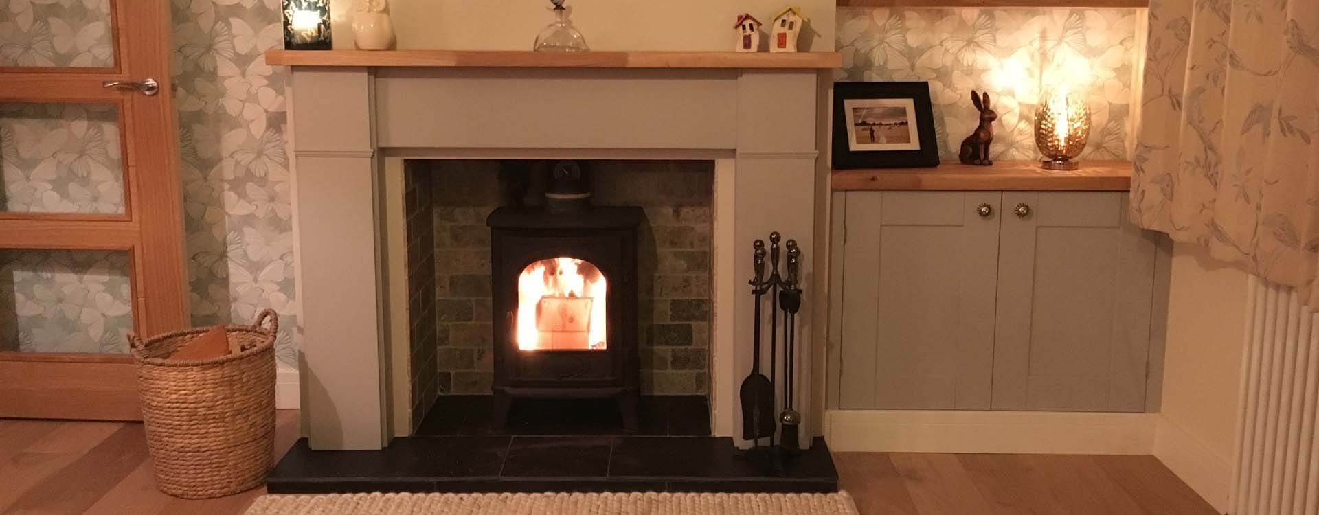 Fireplace and storage carpentry Norwich