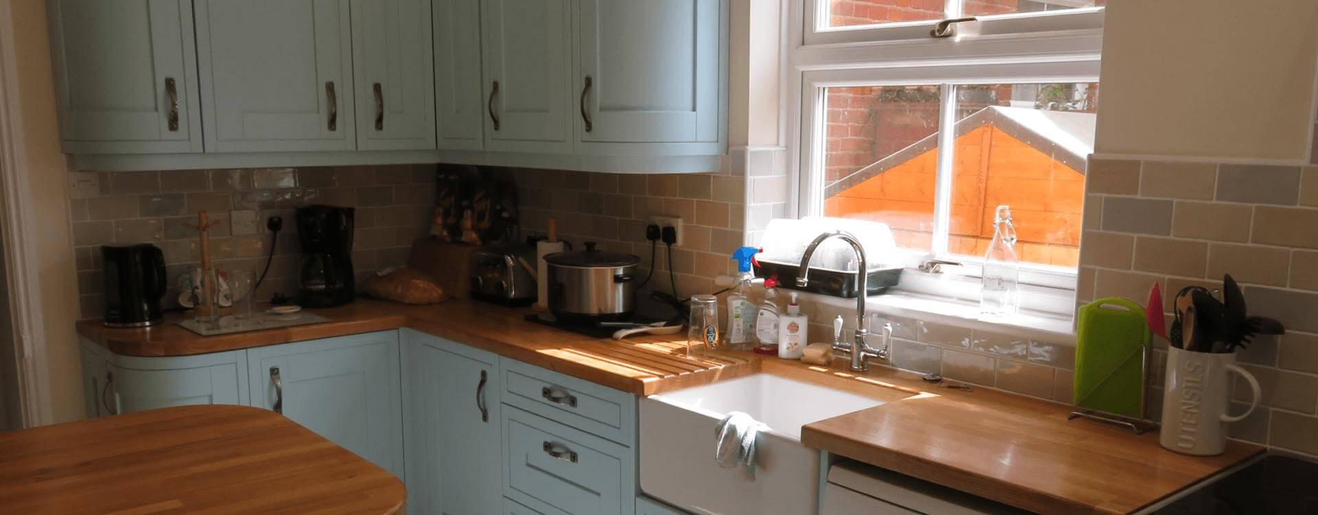 Handmade Kitchen units and worktops Norwich Norfolk
