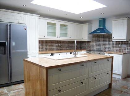 Norwich Wooden Kitchen Island