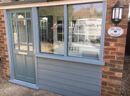 Norwich wooden external door carpentry