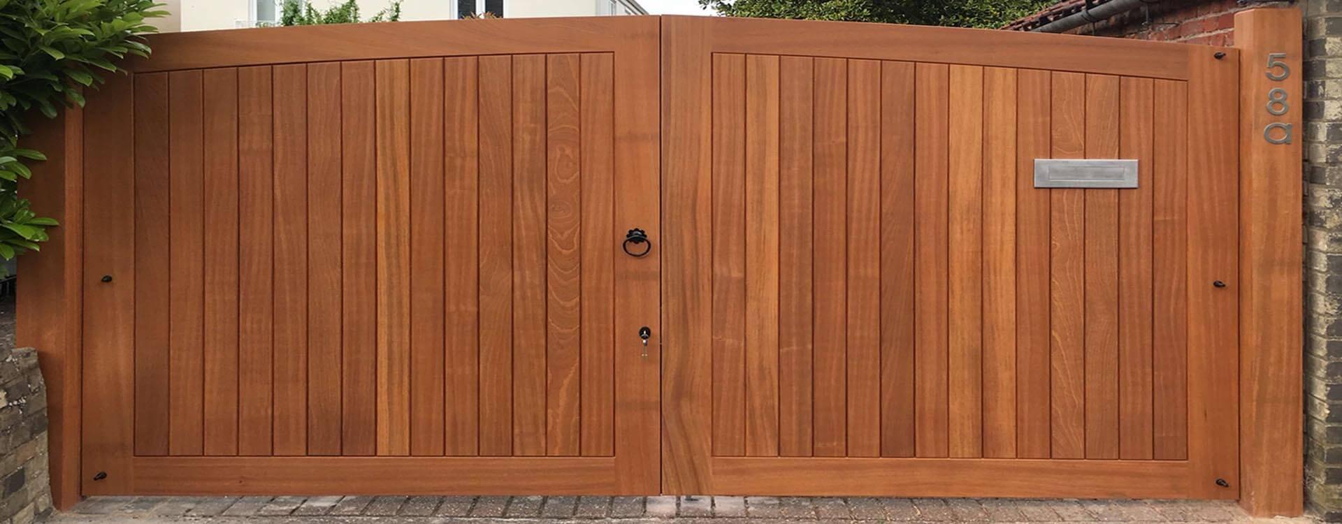 Solid Wooden Gates Norwich Carpenter